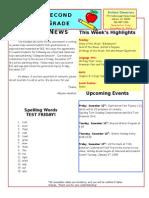 December 5 Newsletter