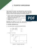 Bab 5 - Model Teoritis Variogram