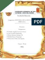 Monografia de Historia de La Educacion Peruana