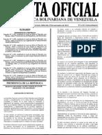 Gaceta Oficial Extraordinaria Nº 6.156