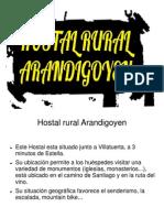 Presentación del HOSTAL RURAL ARANDIGOYEN.ppt