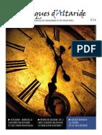 Chroniques d'Altaride n°014 juillet 2013 Le Temps