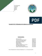 Sociedad Civil y problematica de la mineria en guatemala