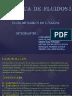 Flujo de Fluidos en Tuberías.pps