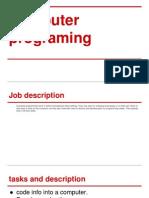 job presentation