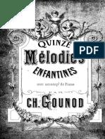 Gounod - 15 Melodies Enfantines VPf