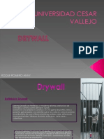 Analisis de Colocacion de Drywall