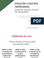 Administración y Gestión Empresarial,Costos