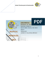 Manual ProExcel 2014