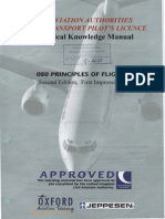 Jaa Atpl Book 13 - Oxford Aviation Jeppesen - Principles of Flight