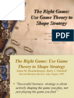 Game Theory Strategy