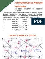 Medida Angulos Horizontales Precision