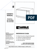 Kenmore Microwave Manual