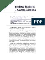 Entrevista Desde El Penal García Moreno