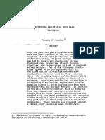 Analisis Estadistico de Frcturas Mit 1984