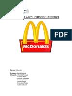 Examen Comunicación Efectiva
