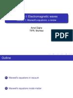 Electrodynamics 1