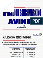 BENCHMARKING AVINKA