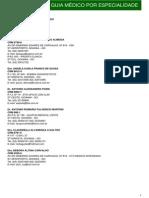 UNIMED - Guia Medico Por Especialidade Goiânia