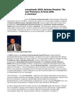 Ascoli Premio Internazionale 2015 Antonio Preziosi Da San Francesco a Papa Francesco