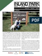 Weinland Park Community Civic Association Newsletter October 2013