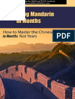 Mastering Mandarin in Months How to Learn Chinese in Months Not Years
