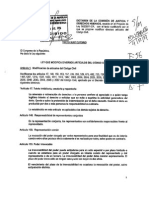 Texto que modifica diversos articulos del Código Civil