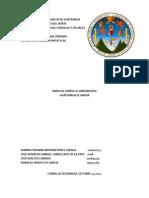 Analisis Comparativo Ecuador-guatemala