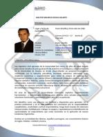 Hoja de Vida WALTER ROJAS Sin Certificaciones