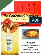 December 7 Newsletter