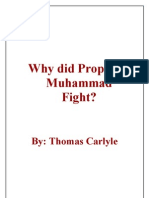 Why Did Prophet Muhammad Fight? by Thomas Carlyle