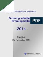 [DE] Records Management Konferenz 2014   Dokumentation Download   #RMK2014