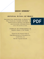 1910 Clymer Grand Grimoire