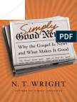 Simply Good News by N. T. Wright (Book Excerpt)