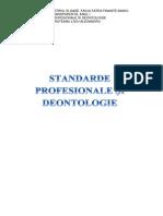 Standarde Profesionale Si Deontologie