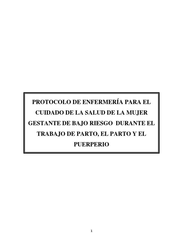 Protocolon Parto Humanizado
