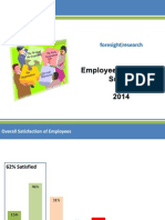 Foresight First Employee Satisfaction Survey 2014