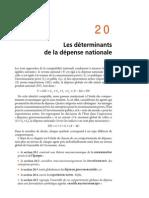 Chapitre 20 Les Déterminants de La Dépense Nationale