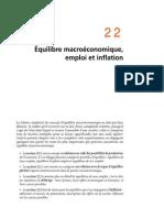 Chapitre 22 Equilibre Macroéconomique Emploi Et Inflation