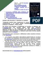 Pensamiento Sistemico de Peter Senge QUINTA DISCIPLINA