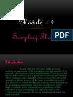 Sampling Basics