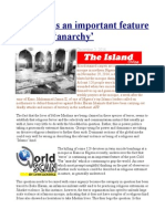 'Terror' as an Important Feature of Global 'Anarchy'
