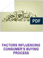 Social Factors Influencing Buying Behavior