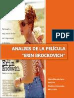 Analisis de la Pelicula de ErinBrockovich