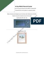 Audi A3 8P RNS E Bluetooth Sharkfin Install V1