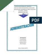 Bases de La Administracion Enfermeria