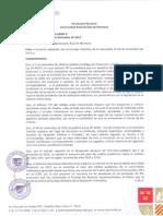 Resolución Nº 076 2014 UARM R
