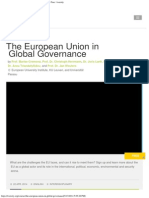 EU in Global Governance Course _ Education. Online. Free. _ Iversity