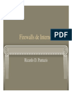 Firewalls de Internet