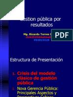 Gestion Por Resultados a. P. 2013